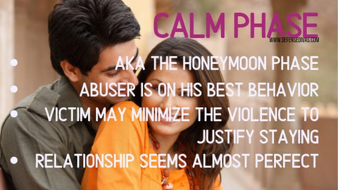 defense divas cycle of abuse calm phase indicators