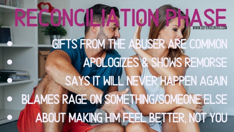 defense divas cycle of abuse reconciliation phase indicators
