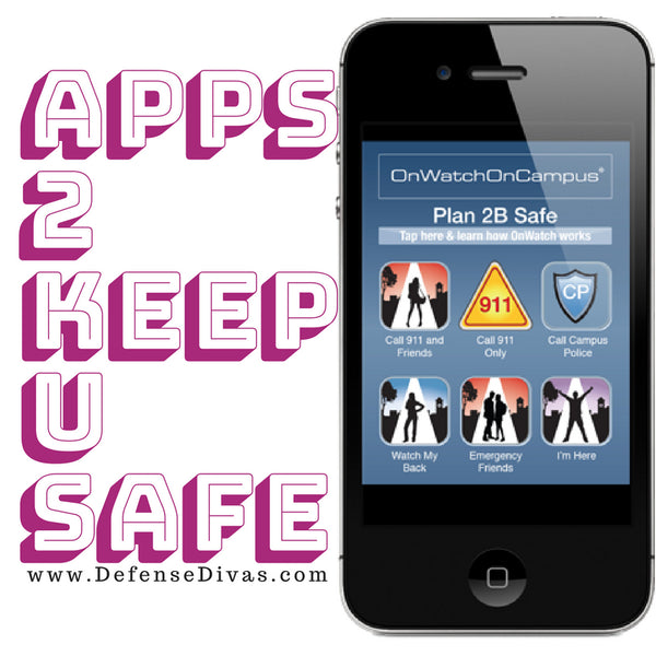 defense divas self defense and safety awareness apps to keep you safe