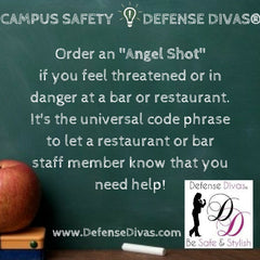 defense divas college campus safety self defense tip #11