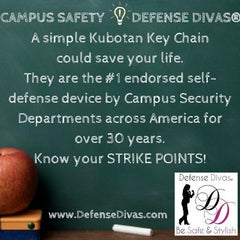 defense divas college campus safety self defense tip #12
