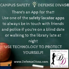 defense divas college campus safety self defense tip #13