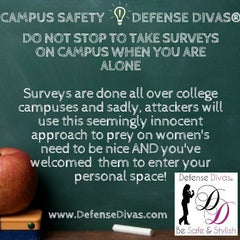 defense divas college campus safety self defense tip #17