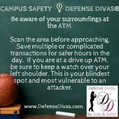 defense divas college campus safety self defense tip #18
