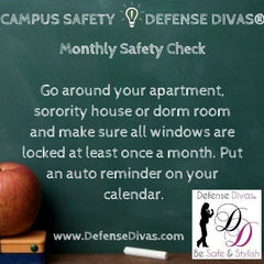 defense divas college campus safety self defense tip #30