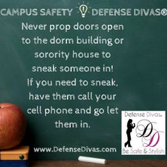 defense divas college campus safety self defense tip #5