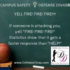 defense divas college campus safety self defense tip #7