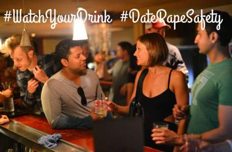 female at party online dating safety tips