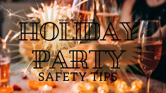 defense divas holiday and office party safety tips