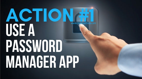 identity safety tip use a password manager app internet security