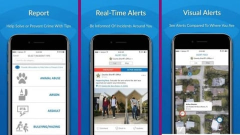 _safety apps 2019 safer watch app for community crime and emergency alerts