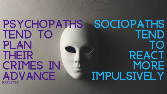 traits of a psychopath and sociopath self defense against an attacker