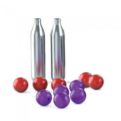 PepperBall Lifelite Refill Kit 5 Live and 5 Inert Rounds and 2 CO2 Cartridges recharge