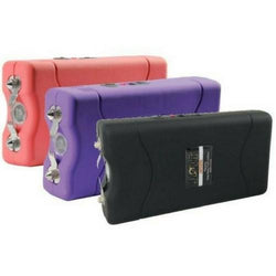 defense divas 86 million volt jolt mini stun gun pink purple green black womens self defense taser color choices