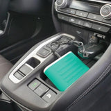 defense divas auto safety car battery jump starter and phone charger use teal