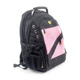 defense divas bulletproof laptop backpack guard dog proshield II pink