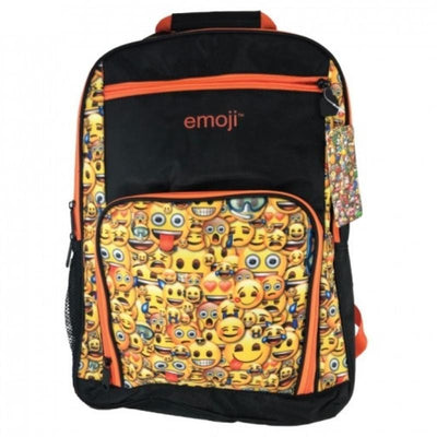 Emoji Smiley Faces Bulletproof Ballistic Backpack