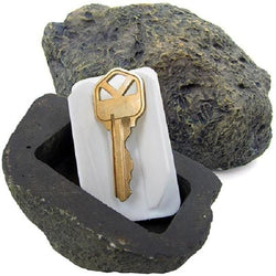 defense divas fake rock key hider inside view diversion safe