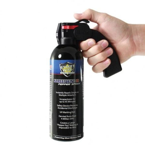 defense divas home defense pepper spray large 16 oz home protection mace pistol grip home security