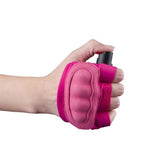 defense divas instafire pink mace pepper spray jogging glove pepper spray glove