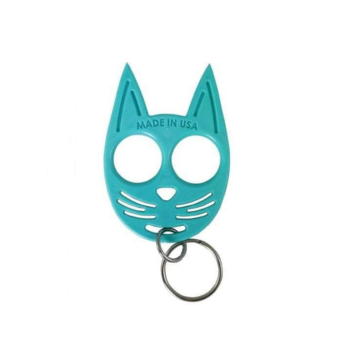 defense divas my kitty self defense key chain impact womens self defense blue SWMKKCLB