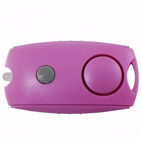 defense divas pink personal safety alarm womens self defense panic alarm