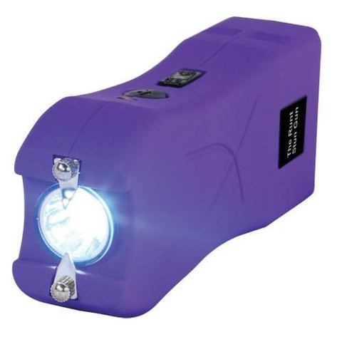 defense divas runt purple stun gun flashlight 20 million volts rechargeable purple taser