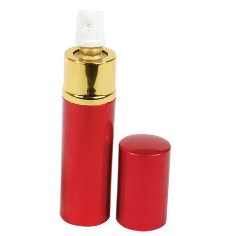 defense divas womens self defense products RED lipstick pepper spray disguised mace PS-LS-RED