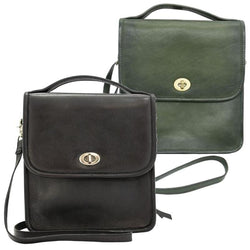 smith wesson kathryn vintage crossbody leather ccw purse black olive green
