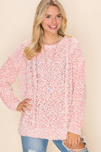Cozy Cute Pink Knit Sweater