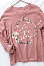 Raw Hem Adorable Sweatshirt