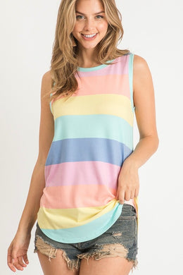 Follow The Rainbow Sleeveless Tank