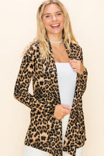 Timeless Leopard Elbow Patch Cardigan