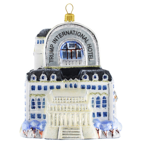 Washington DC Old Post Office Cityscape Ornament