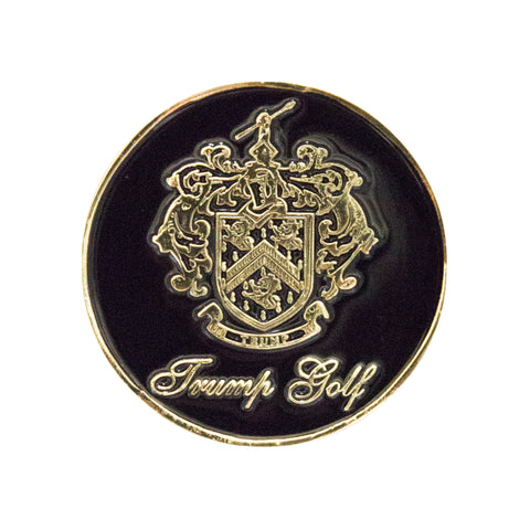Trump Golf Coin - Black