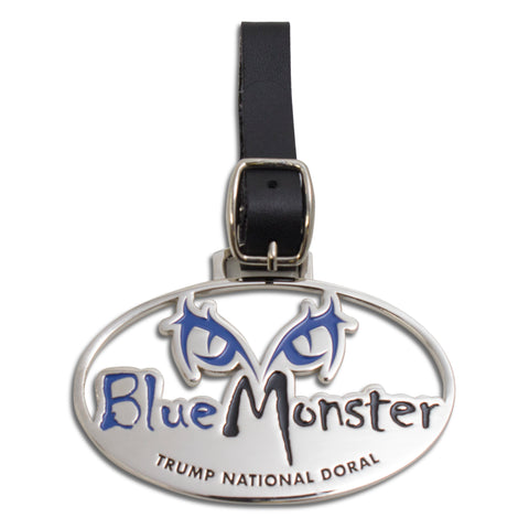 Blue Monster Bag Tag