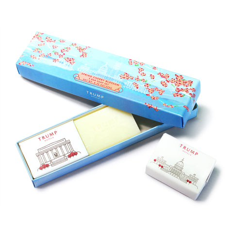 Cherry Blossom Bar Soap Set