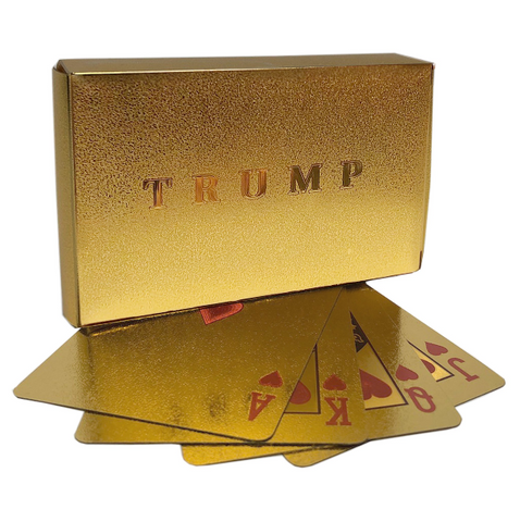 Gold Bar Playing Cards