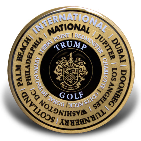 Trump Golf Collector Medallion