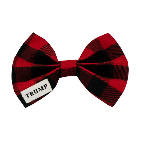 Plaid Pet Bow Tie