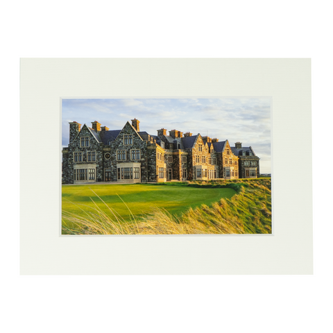 Trump Doonbeg Lodge Matted Print