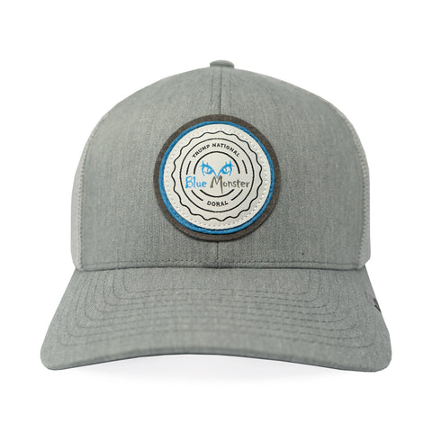 Blue Monster Patch Hat