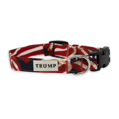 Flag Pet Collar