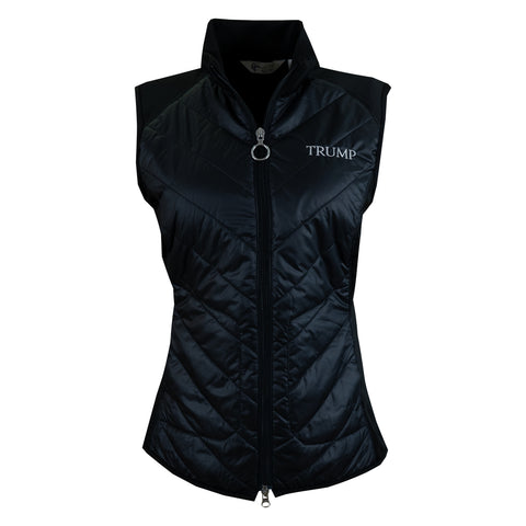 Women's Chevron Quilted Vest