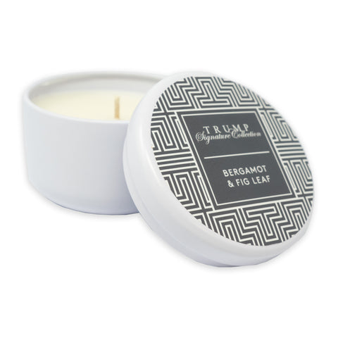 Bergamot & Fig Leaf Tin Candle