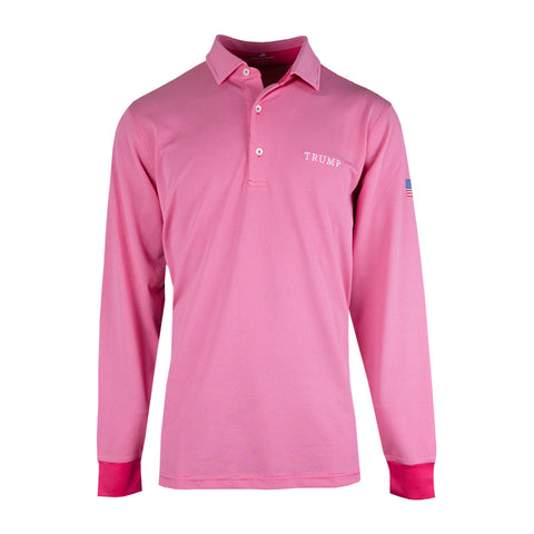 Mchugh Long Sleeve Pique Polo