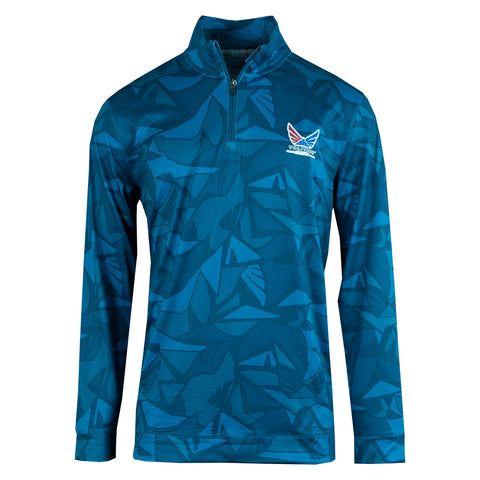 Volition Aerial 1/4 Zip - Trump National Doral
