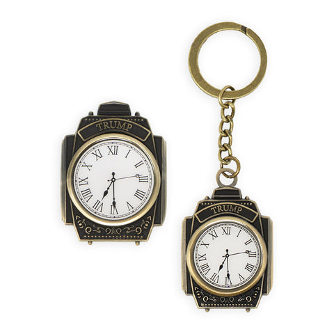 Clock Tower Keychain & Magnet Set