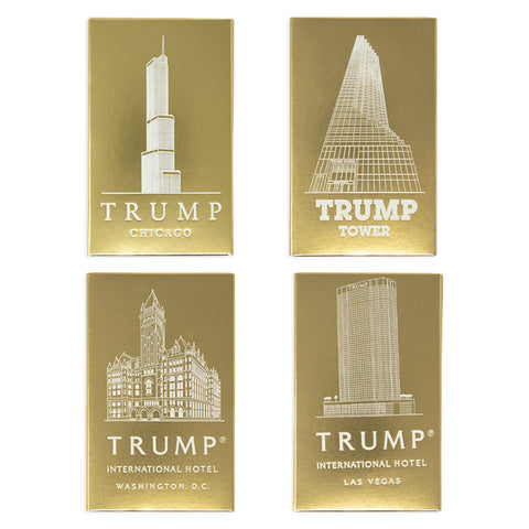 Trump Location Chocolate - Set of 4