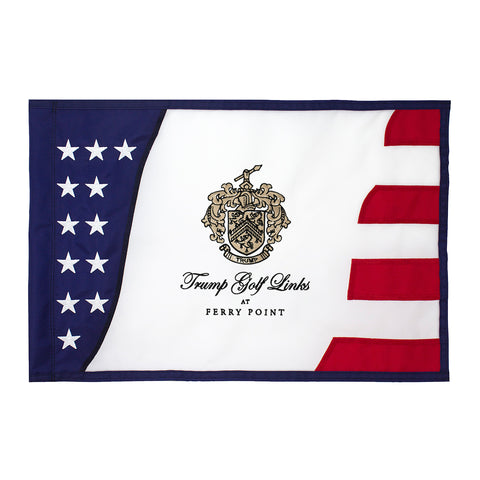 Ferry Point Stars and Stripes Pin Flag